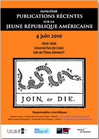 Publications récentes sur la jeune République Américaine